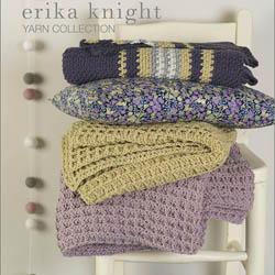 Erika Knight Trykte opskrifter til Gossypium discontinued designs Rhubarb Gossypium US English