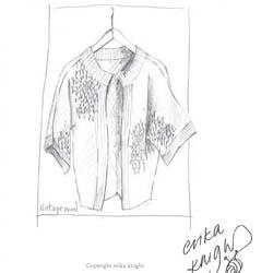 Erika Knight Printed Patterns for Vintage and Fur Wool 20 EdgeJacket Deutsch Vintage Wool
