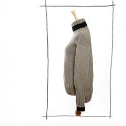 Erika Knight Printed Patterns for Vintage and Fur Wool 29 Rollkragenpullover Deutsch Vintage Wool