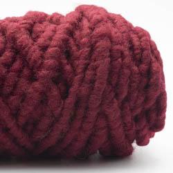 Kremke Soul Wool RUGby Tæppe Uld Weinrot