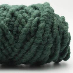 Kremke Soul Wool RUGby Tæppe Uld Tiefdunkelgrün