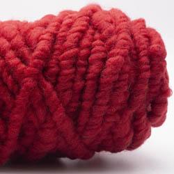 Kremke Soul Wool RUGby Tæppe Uld Kirschrot