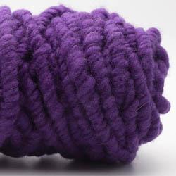 Kremke Soul Wool RUGby Tæppe Uld Lila