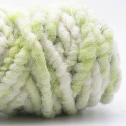 Kremke Soul Wool RUGby Tæppe Uld Kräftiggrün-Natur