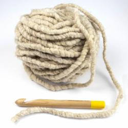 Kremke Soul Wool RUGby Tæppe Uld GOTS