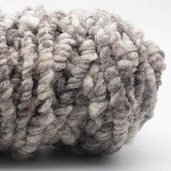 Kremke Soul Wool RUGby Tæppe Uld GOTS Grau Braun ungefärbt