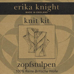 Erika Knight Strickset Zopfstulpen