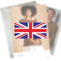 Erika Knight Opskrifter VIRGINIA til British Blue 100 EK0004 English
