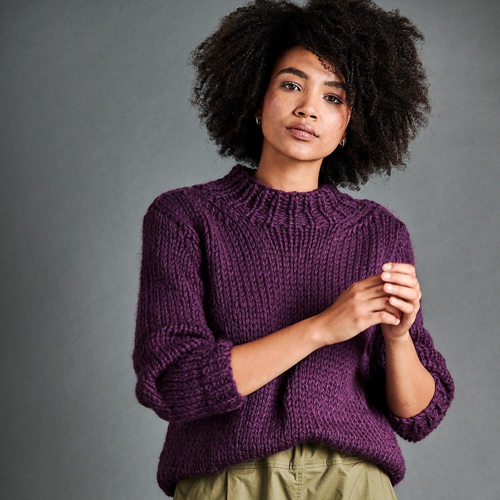 Erika Knight Opskrifter PASSERBY til Maxi Wool EK0008