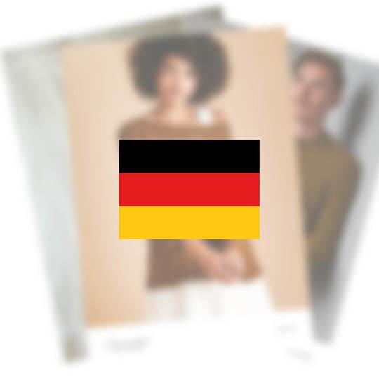 Erika Knight Opskrifter TRAVELLER til Maxi Wool EK0009 Deutsch