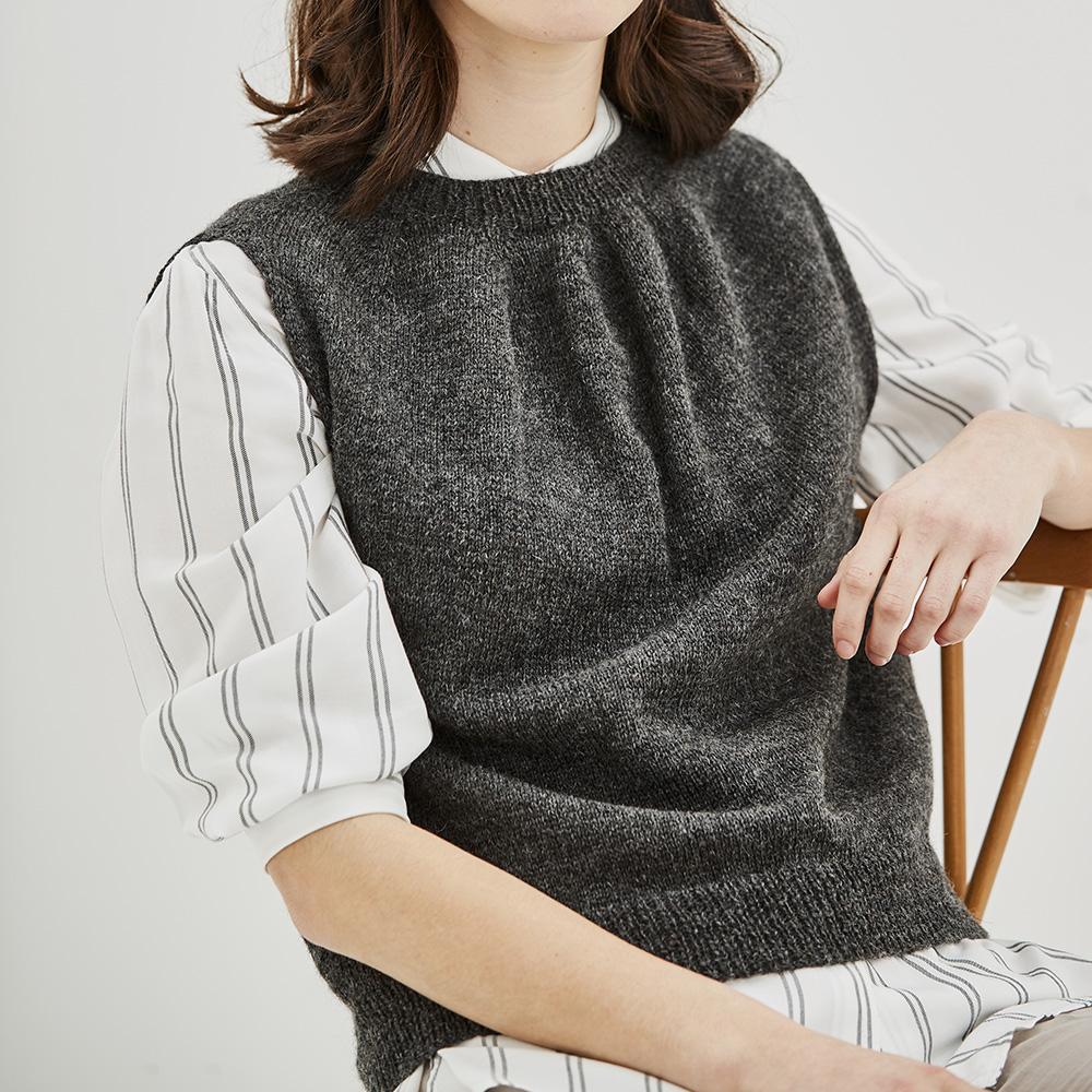 Erika Knight Opskrifter GRIMSHAW til Wool Local EK0012