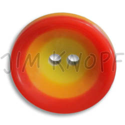 Jim Knopf Colorful plastic button circles 16mm Rot Orange Gelb