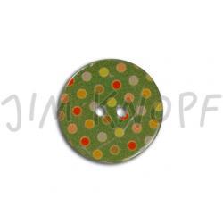 Jim Knopf Coconut Buttons Points Grün