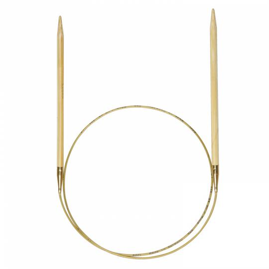 Addi 555-7 Nature circular knitting needles bamboo 2,5mm_40cm
