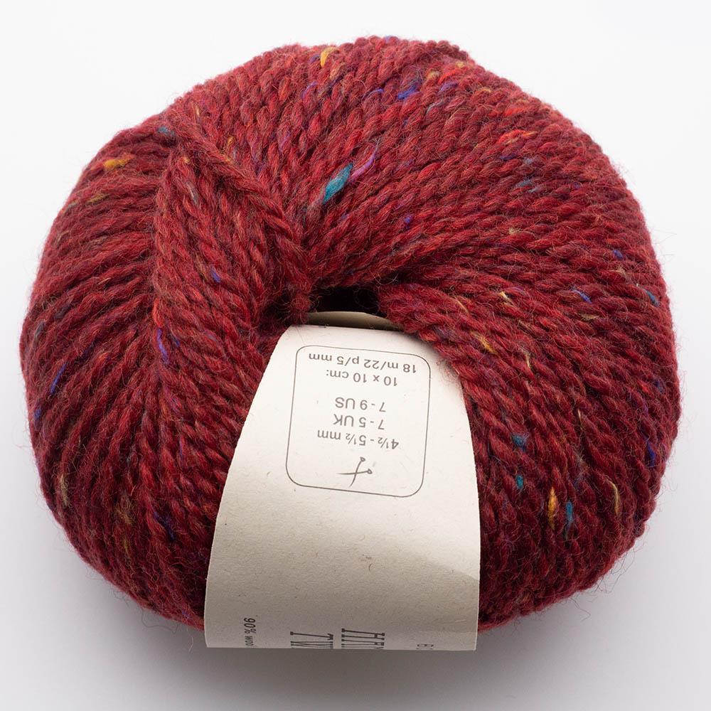BC Garn Hamelton Tweed 1 red