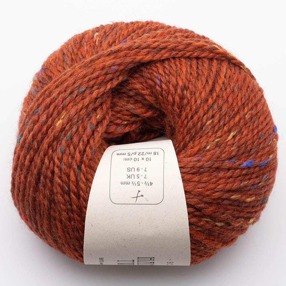 BC Garn Hamelton Tweed 1 red orange