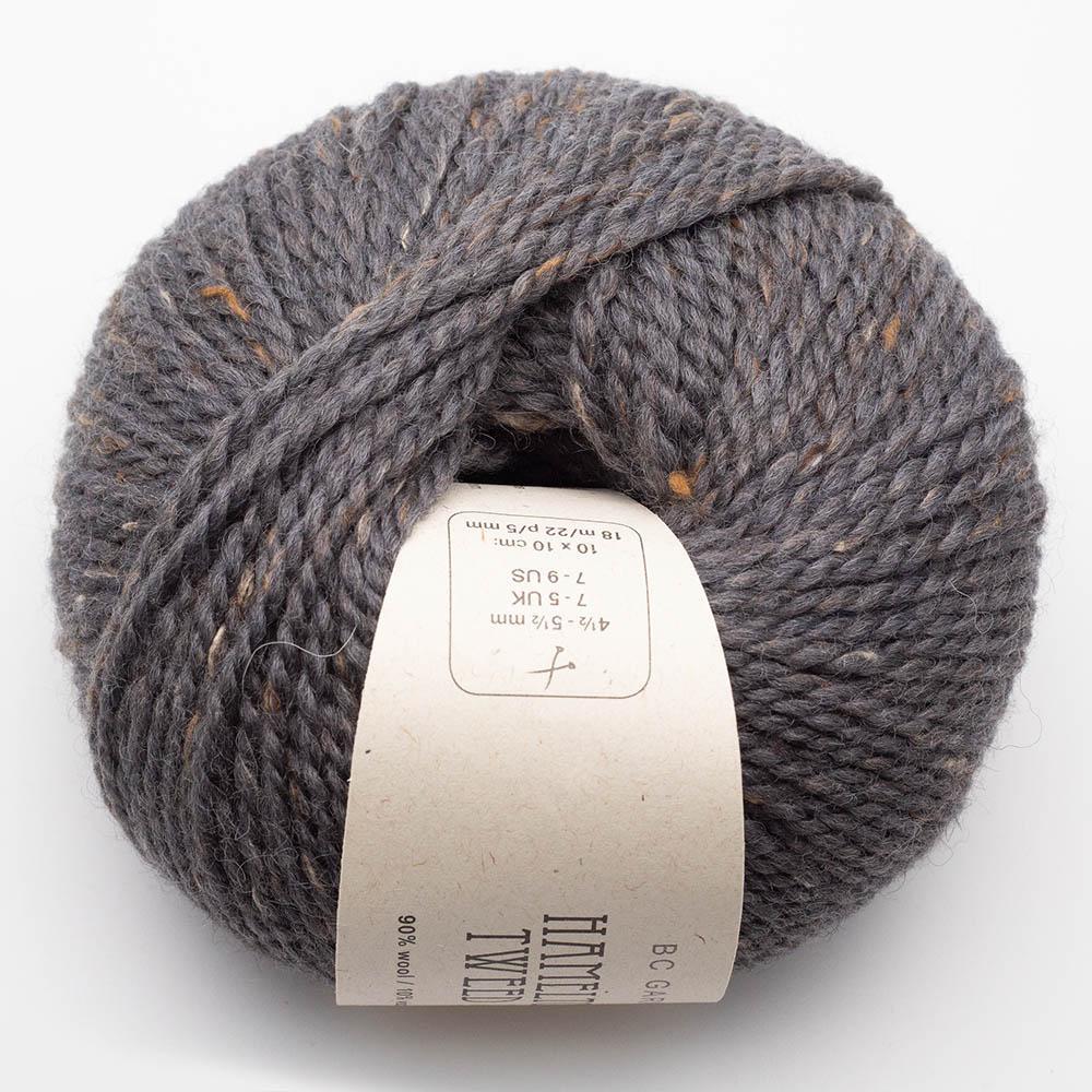 BC Garn Hamelton Tweed 1 graphite