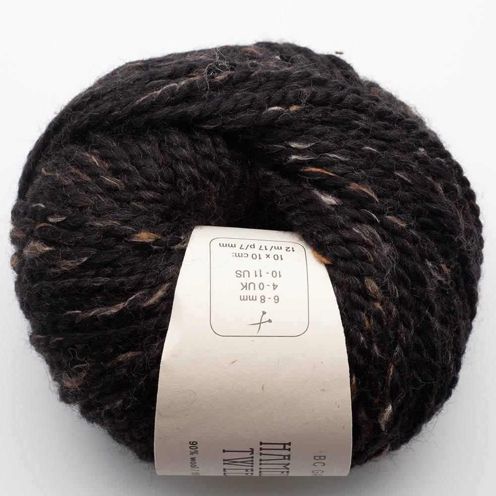 BC Garn Hamelton Tweed 1 brownish black
