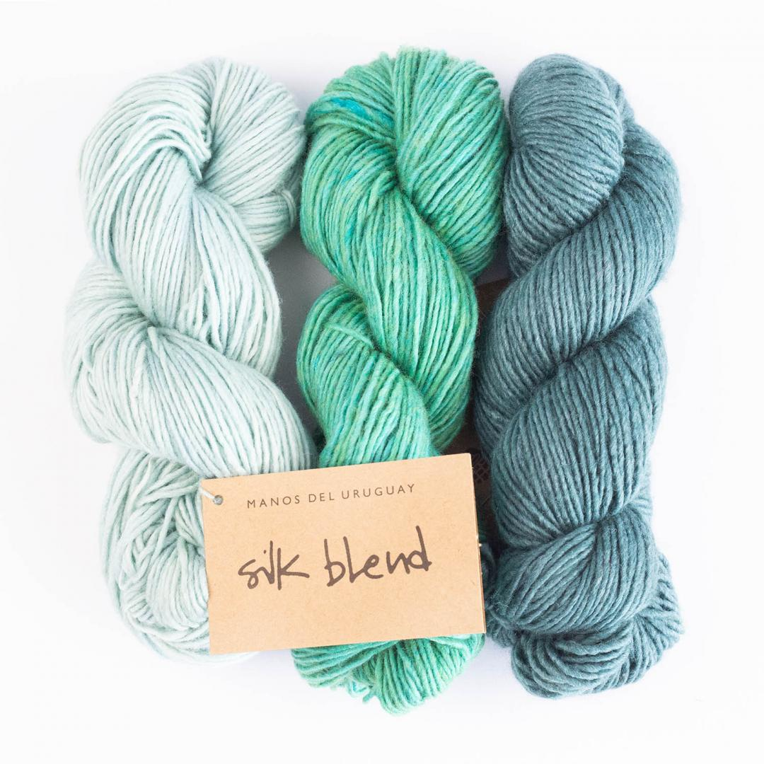 Manos del Uruguay Silk Blend - ensfarvet  Natural3014
