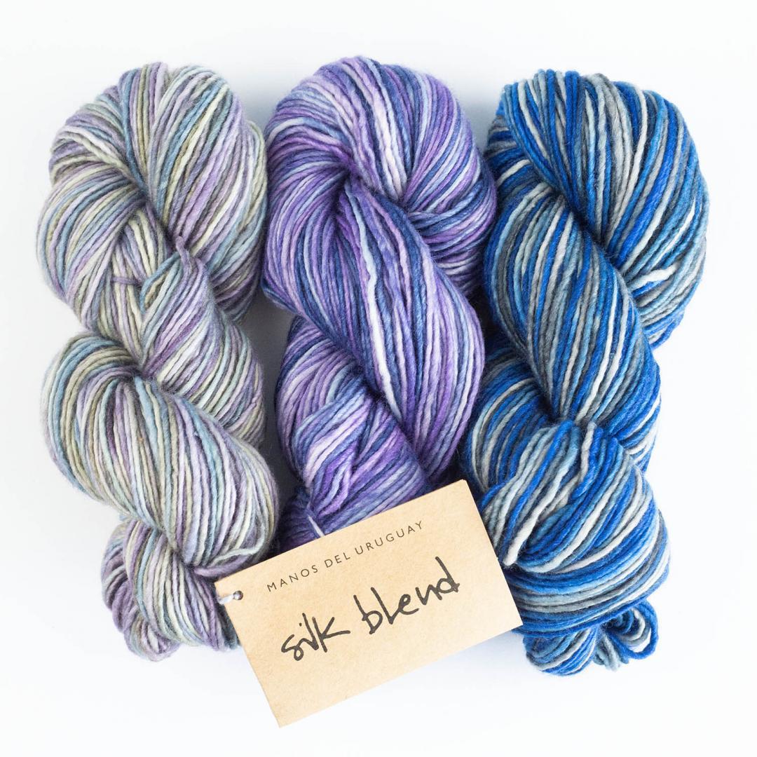 Manos del Uruguay Silk Blend - meleret  Patina3304