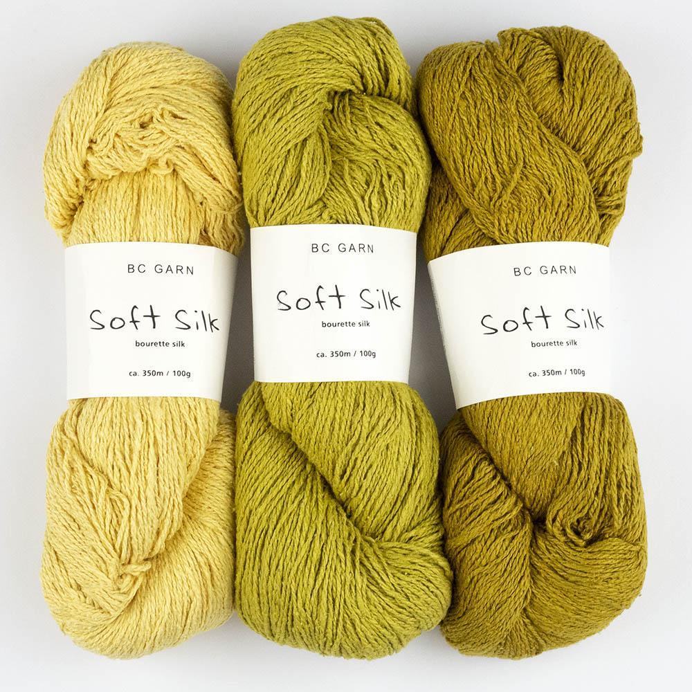 BC Garn Soft Silk  reinweiß