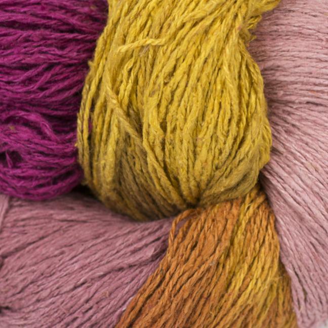 BC Garn Soft Silk handpaint red-fresh-mix