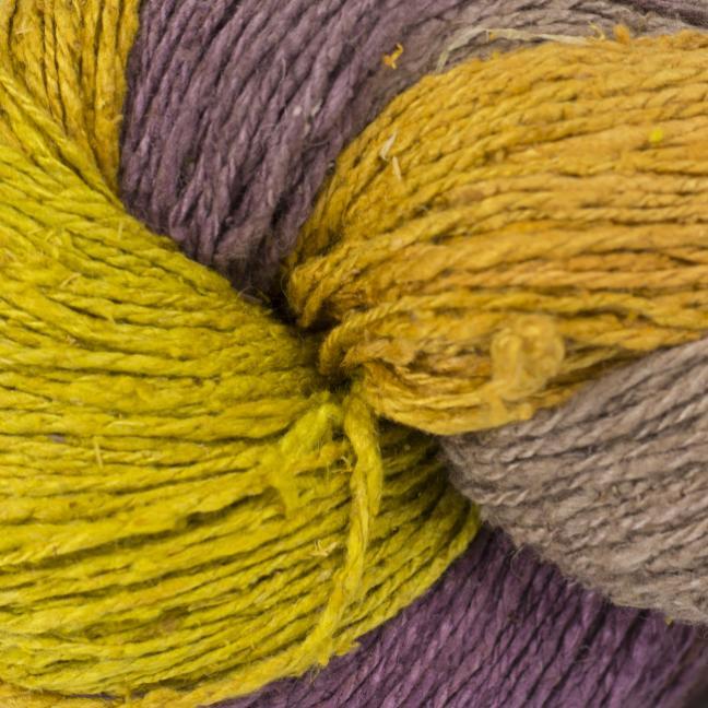 BC Garn Soft Silk handpaint  yellow-fantasie-mix