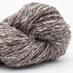 BC Garn Tussah Tweed grey-turquoise-mix