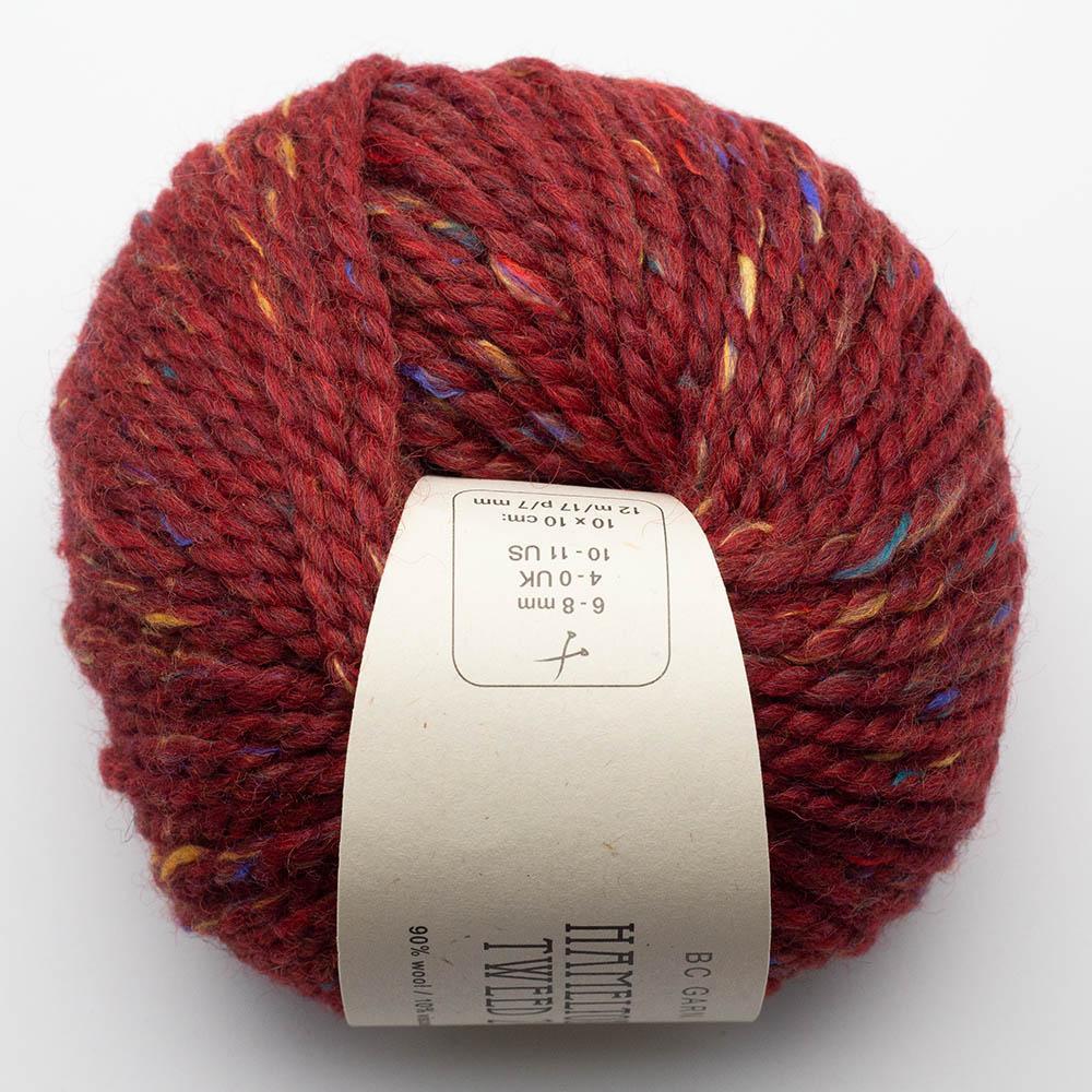 BC Garn Hamelton Tweed 2 red