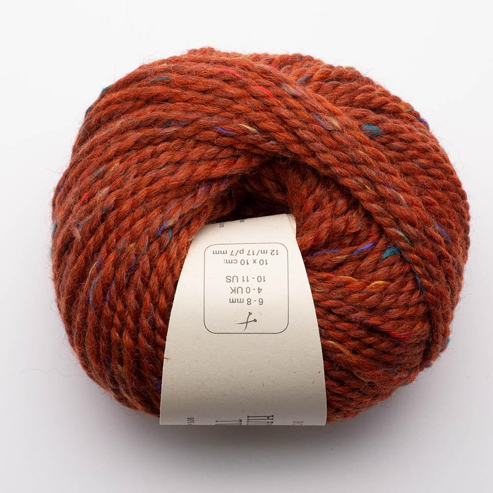 BC Garn Hamelton Tweed 2 red orange