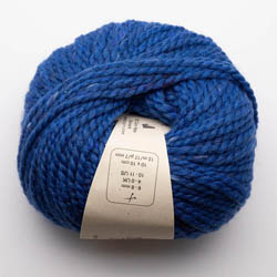 BC Garn Hamelton Tweed 2 royal blue