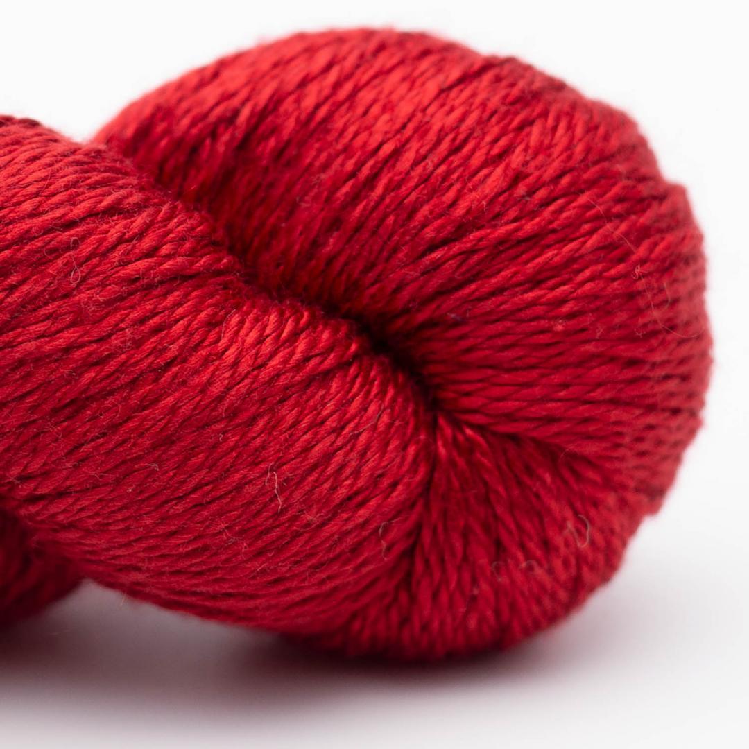 BC Garn Jaipur Silk Fino cardinal red