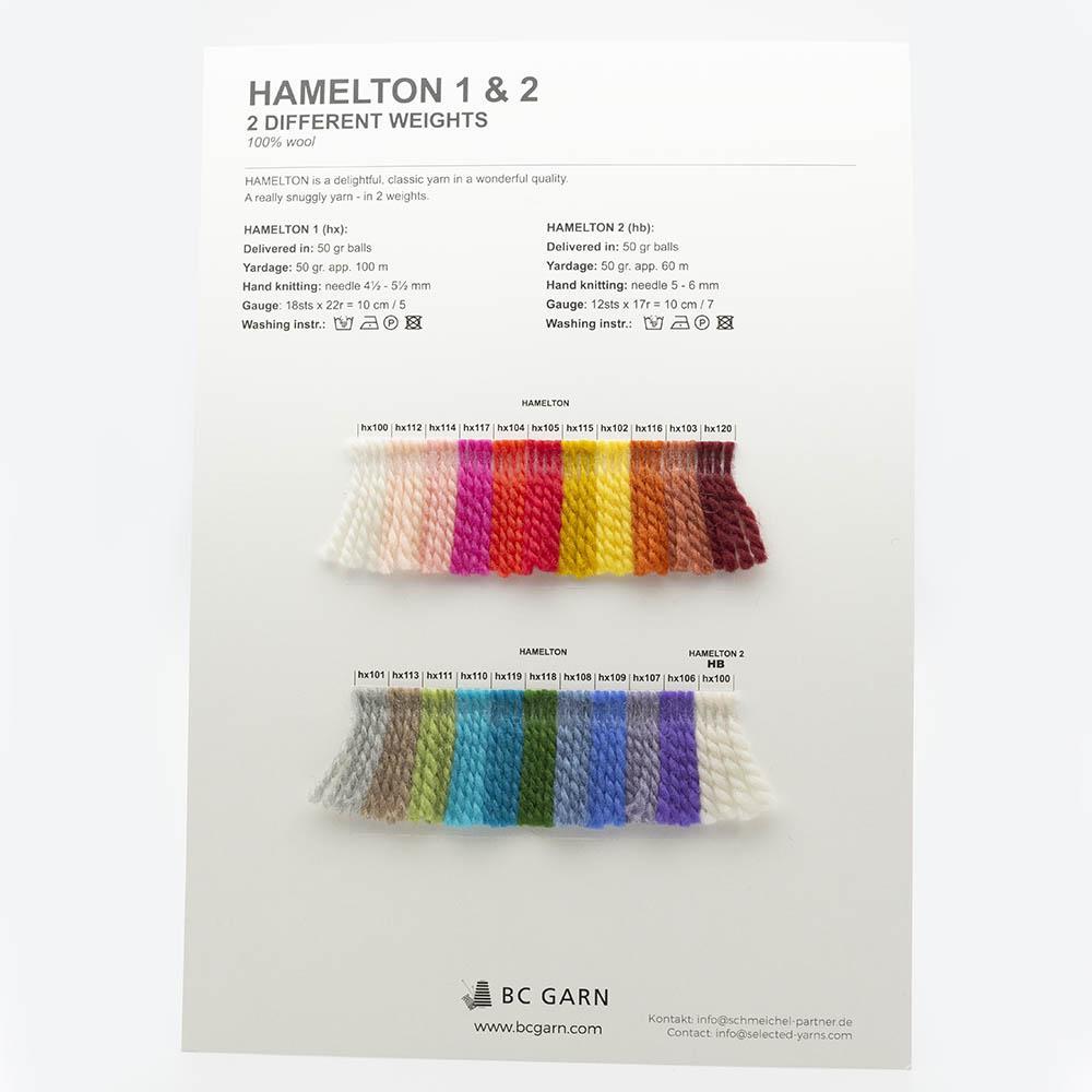 BC Garn Shade Cards BC Garn Hamelton 1/2