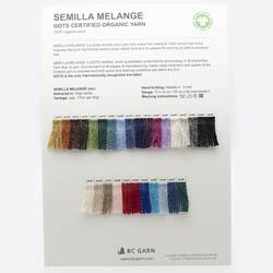 BC Garn Farvekort Semilla Melange