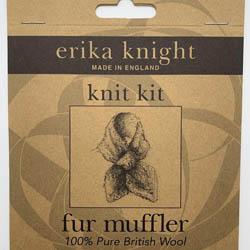 Erika Knight Mønster folder Fur Muffler ENG