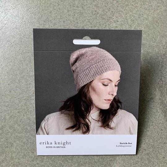 Erika Knight Mønster folder Banderole Wool Local Mütze Deutsch