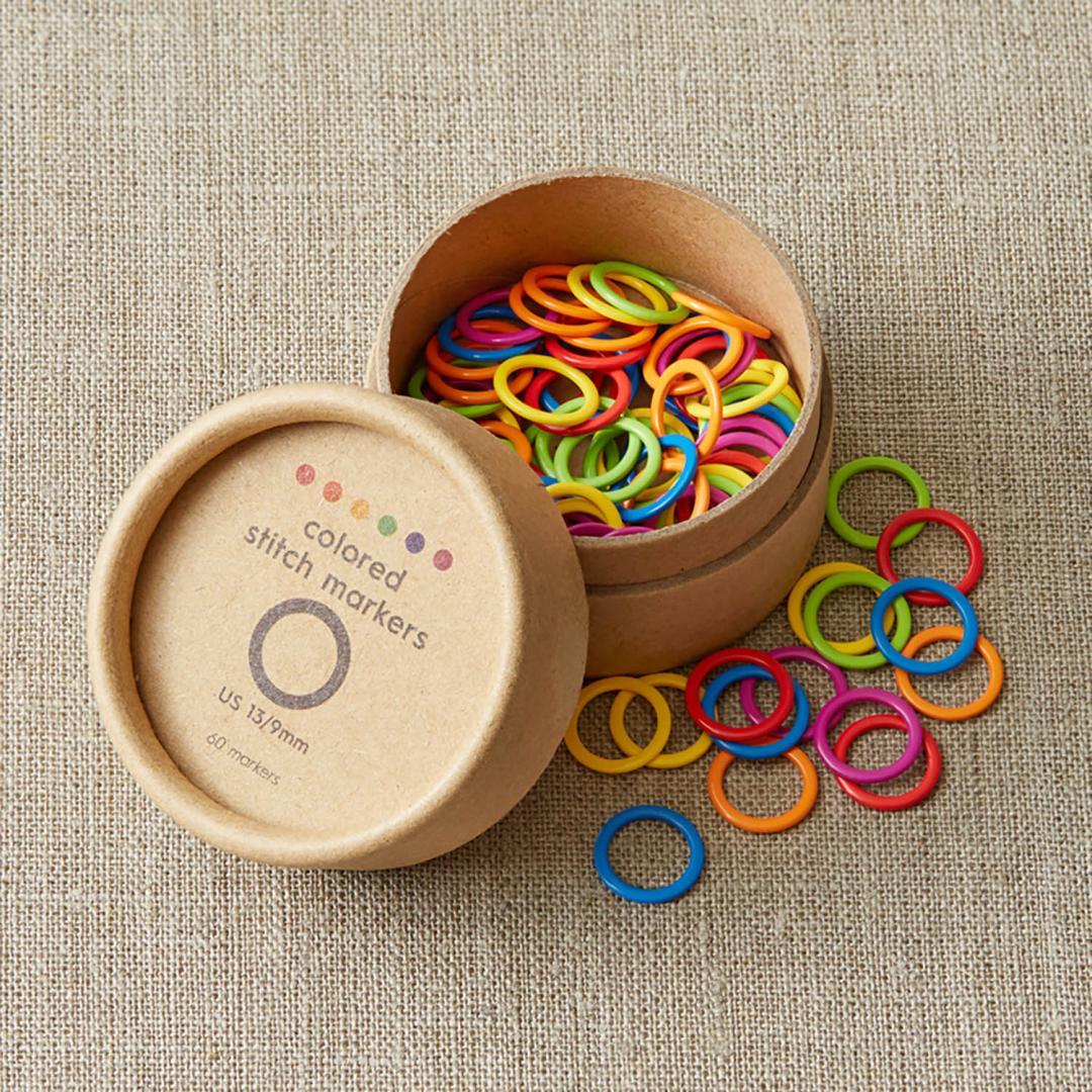 CocoKnits Farverige maskemarkører i 2 størrelser Large