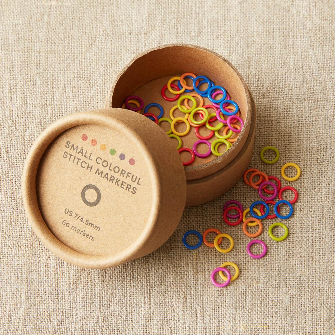 CocoKnits Farverige maskemarkører i 2 størrelser Small