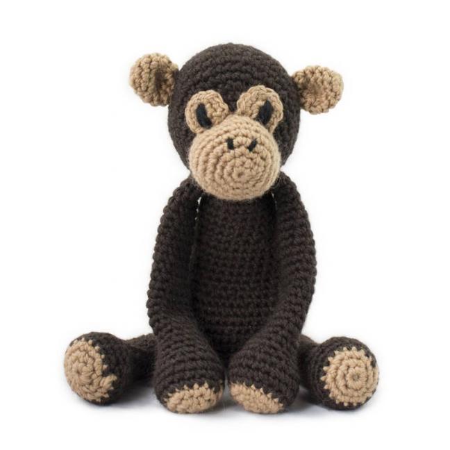 TOFT TOFT Amigurumi Benedict Chimpanzee
