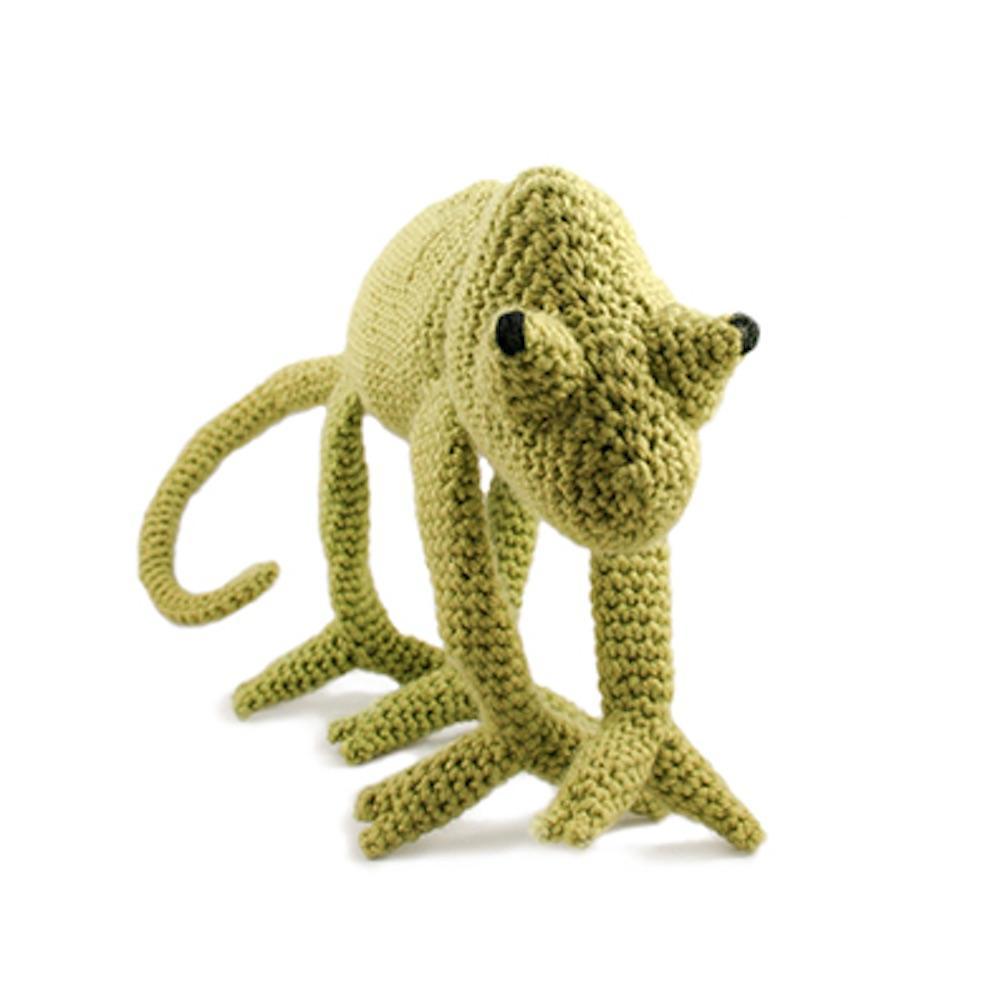 TOFT TOFT Amigurumi Chameleon green