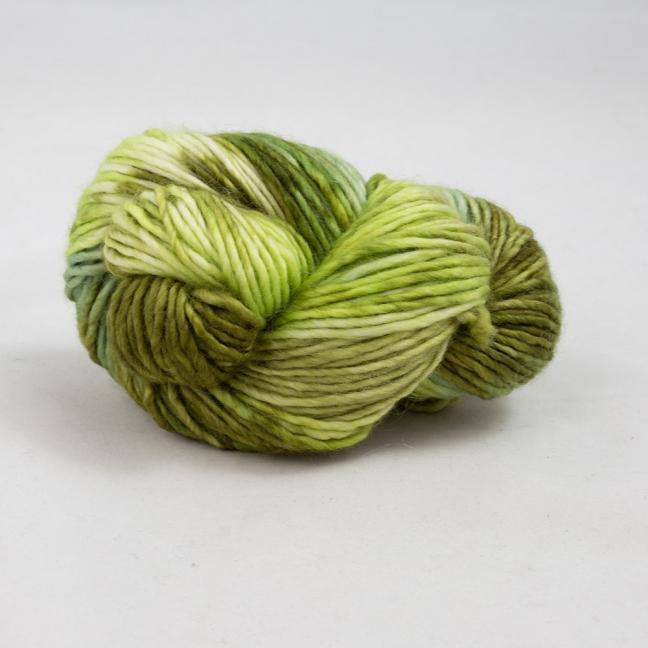 Cowgirl Blues Aran Single Flerfarvet  OliveHeatherSpringSage