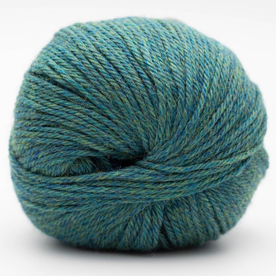 Kremke Soul Wool Baby Alpaca  Turquoise Heather