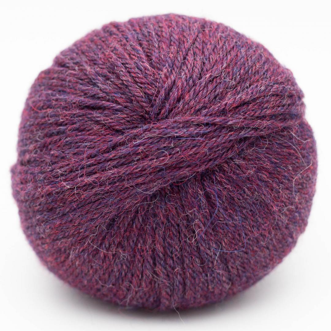 Kremke Soul Wool Baby Alpaca  Berry