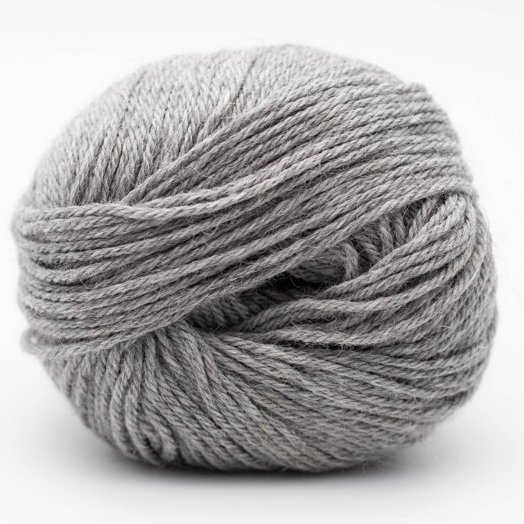 Kremke Soul Wool Baby Alpaca  Light Grey