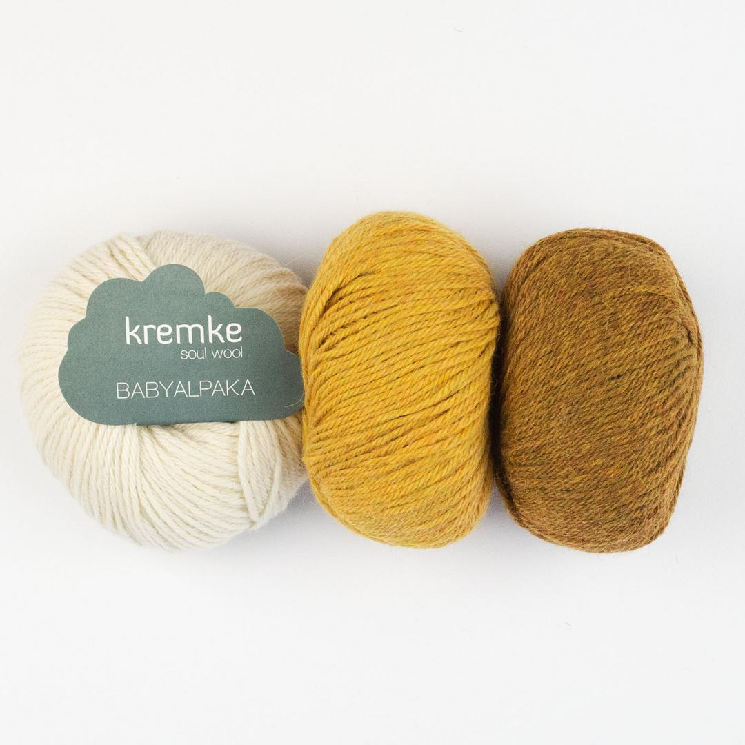 Kremke Soul Wool Baby Alpaca   Natural White