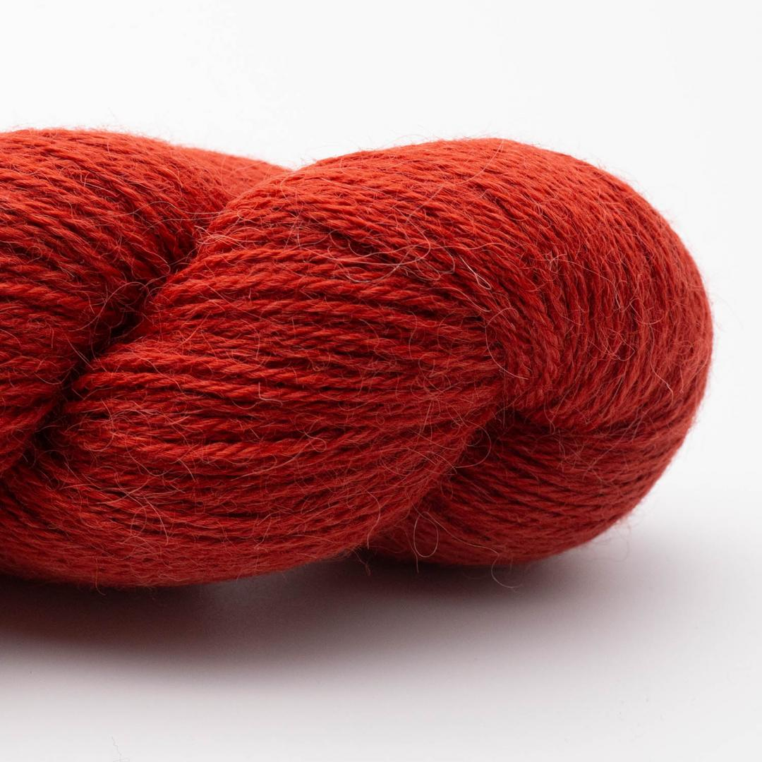 Kremke Soul Wool Alpaca Superfine Fino (100g) orange_10123