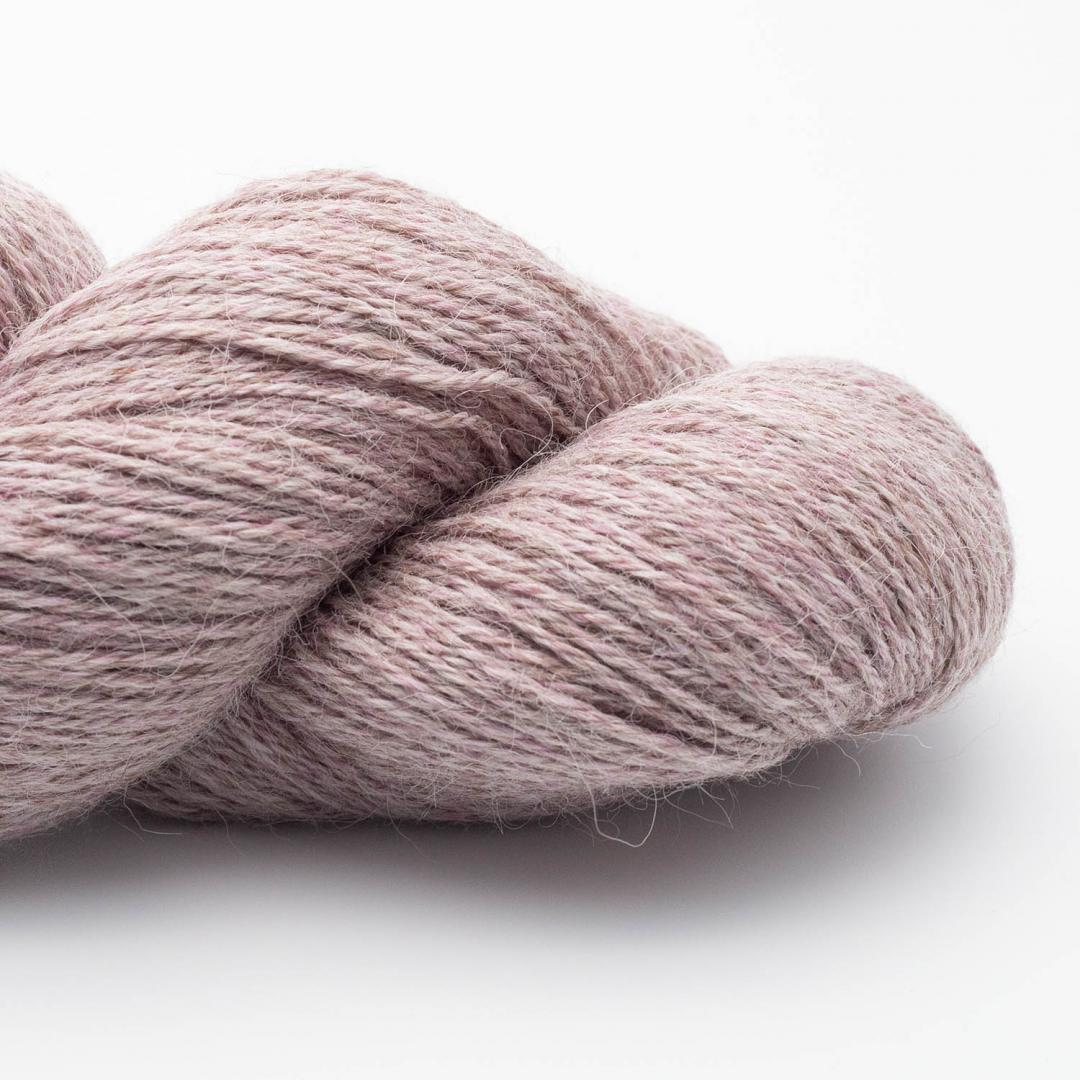 Kremke Soul Wool Alpaca Superfine Fino (100g) Mauve melange