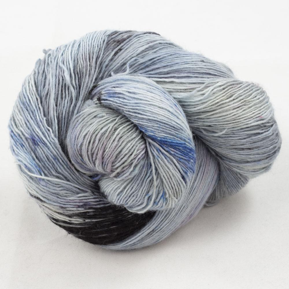 Cowgirl Blues Merino Single Lace Flerfarvet  Moody Blues