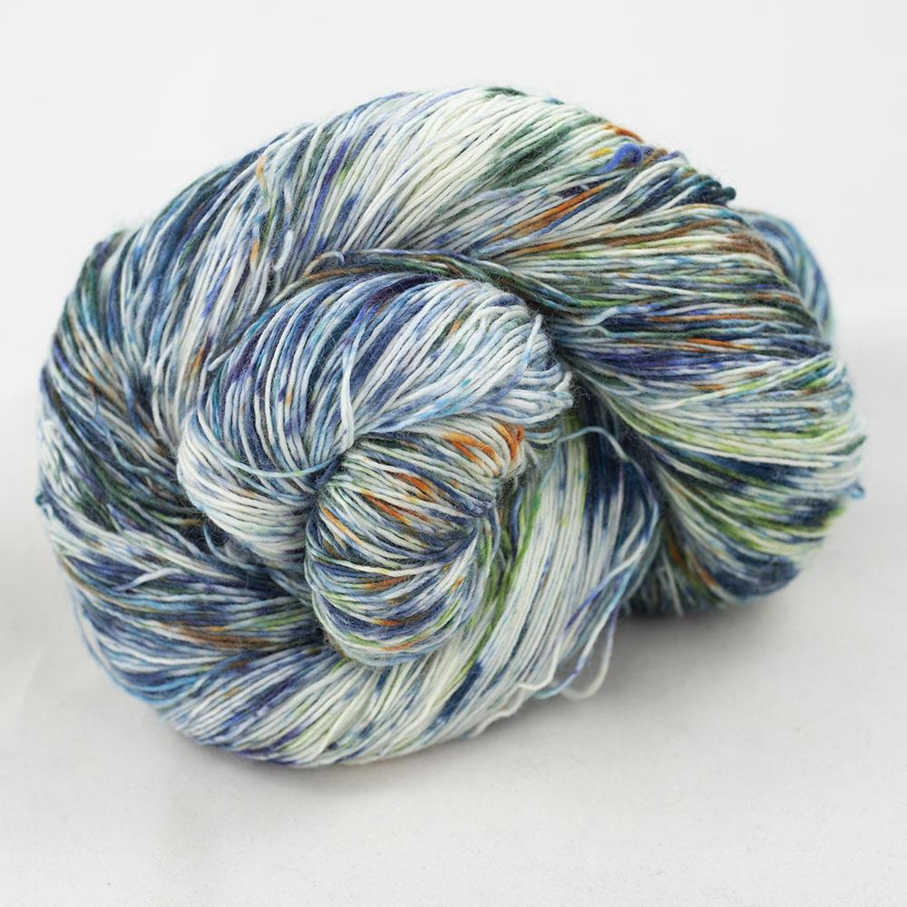 Cowgirl Blues Merino Single Lace Flerfarvet  9 to 5