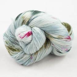 Cowgirl Blues Merino Single Lace Flerfarvet  Signs of Spring